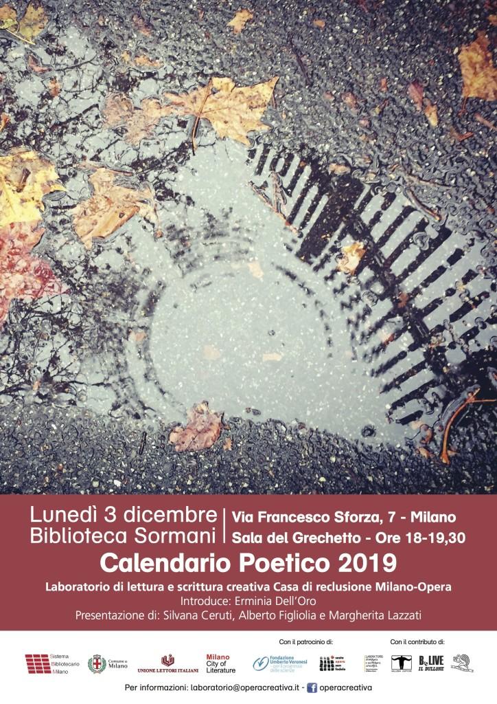 Locandina calendario 2019_sormani